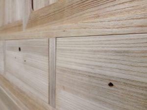 桐タンス修理、木地修理とうづくり後の桐箪笥