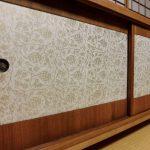愛知県名古屋市Nさまの修理後の桐タンス、引戸
